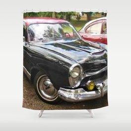 Rare 1959 Argentinian Model Only Kaiser Carabela Shower Curtain
