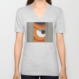 the sh.eye.ning Unisex V-Neck