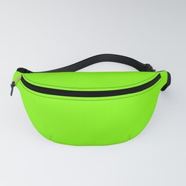 Chartreuse Green Solid Color Fanny Pack
