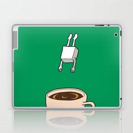 Sugar Jumps Into Coffee Laptop & iPad Skin