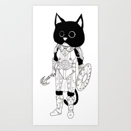 Ju'Lias, Khajiit of Adventure Art Print