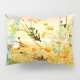 flowers at the beach Pillow Sham