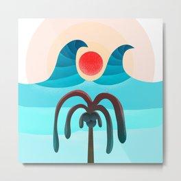 063 - Sun attack!!! Metal Print