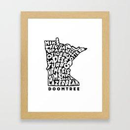 Doomtree DoomState Framed Art Print