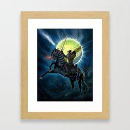 Heavy Metal Knights Framed Art Print