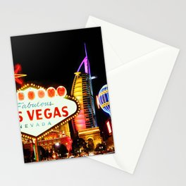Living Las Vegas 2 Stationery Cards