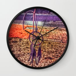 Mandala Dream Catcher Wall Clock