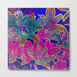 Color lilies  Metal Print