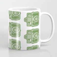 I Still Shoot Film Holga Logo - Green Mug