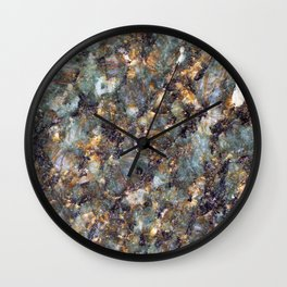Emerald Granite Wall Clock