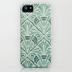 Art Nouveau Grunge Pattern Slim Case iPhone (5, 5s)