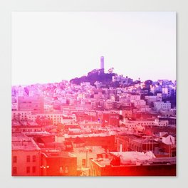 Crayola Skyline Canvas Print