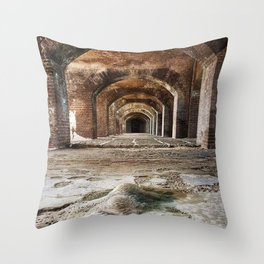 Entrance to the soul Throw Pillow