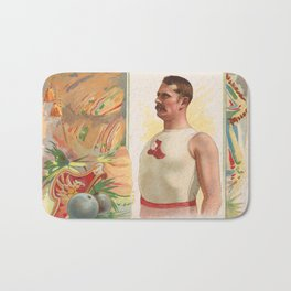 W.J.M. Barry, Hammer Throw, from World's Champions, Second Series (N43) for Allen & Ginter Cigarette Bath Mat
