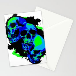 Mutations (neon) Stationery Cards