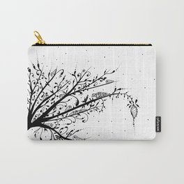 Larva Tree Ink Art Carry-All Pouch
