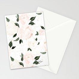 vintage blush floral Stationery Cards