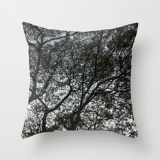 Under the trees II Throw Pillow