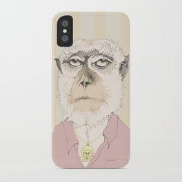 mono gitano iPhone Case
