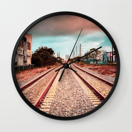 Road to Nowhere Wall Clock