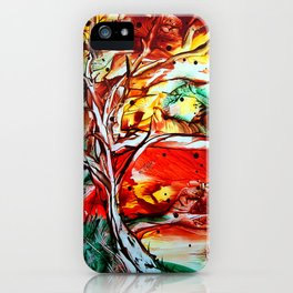 GoldenOctober iPhone Case