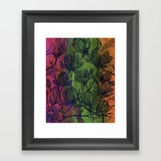 Flowers 1 Framed Art Print