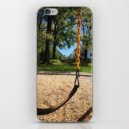 Swings in Summer iPhone Skin