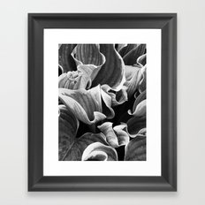 Leafing on the Midnight Train Framed Art Print