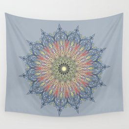 red and black Center Swirl Wall Tapestry