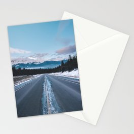 Icefields Parkway, AB II Stationery Cards