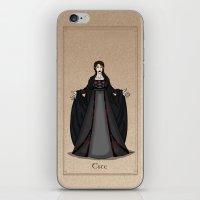 valar morghulis iPhone & iPod Skins featuring Este by wolfanita