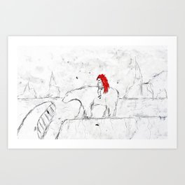 Welcome to Icenod Art Print
