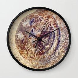 Sleepy Chub Wall Clock