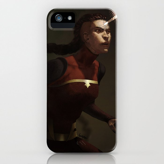 combustion woman iPhone Case