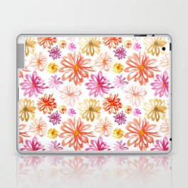 Painted Floral I Laptop & iPad Skin