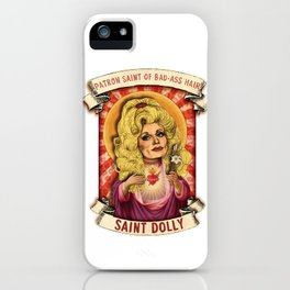 Saint Dolly iPhone Case