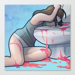 Vomit Canvas Print