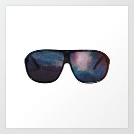 """""""Space Shades"""" Art Print"""