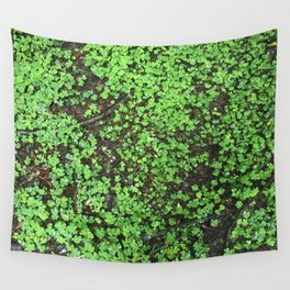 Four Leaf Clover Wall Tapestry