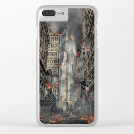 Apocalypse Clear iPhone Case