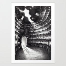 La grotta dei suoni Art Print