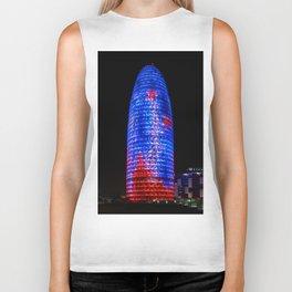 Torre Agbar Barcelona Biker Tank