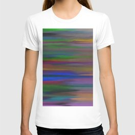 Lucid mixed colors T-shirt