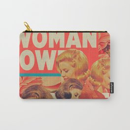 Woman Power Carry-All Pouch