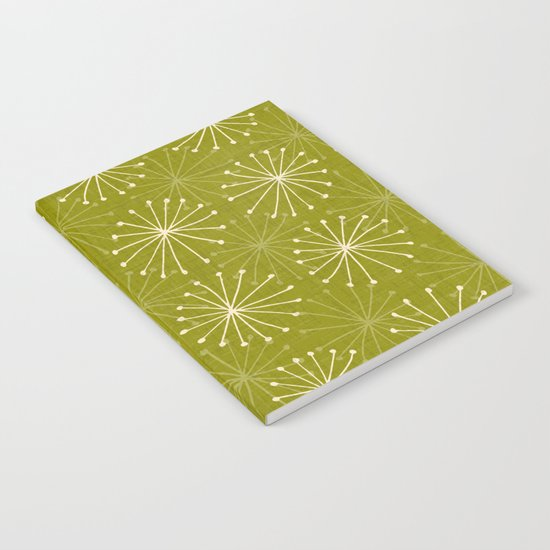 seedheads green Notebook