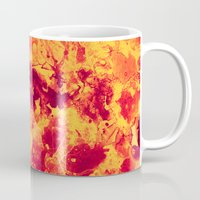 chemistry Mugs featuring Chemistry on Red by Adaralbion