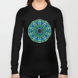 Magic mandala space object Long Sleeve T-shirt