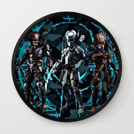 Predators Are Coming Wall Clock