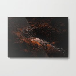 Stream: Earth Collection Metal Print