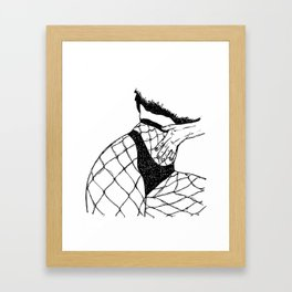 Fishnets Framed Art Print